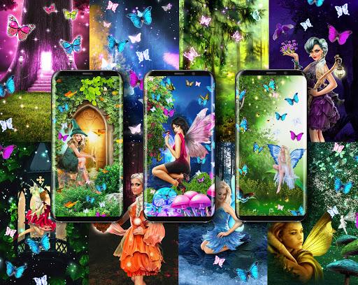 Magical forest live wallpaper apktram screenshots 1