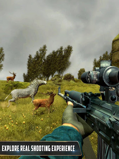 Wild Animal Hunting : Jungle Sniper FPS Shooting 1.11 screenshots 4