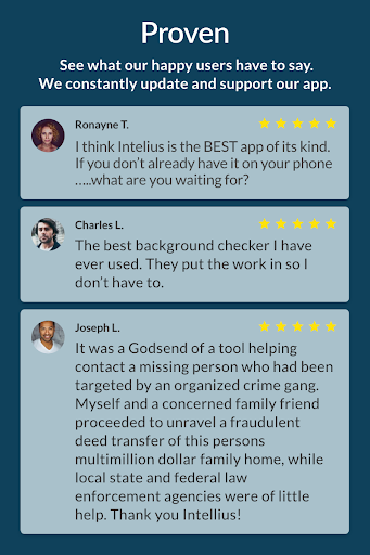 Intelius Background Check Pro android2mod screenshots 4