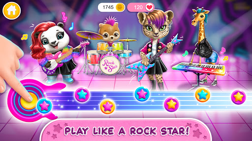 Rock Star Animal Hair Salon - Super Style & Makeup 4.0.70031 screenshots 4