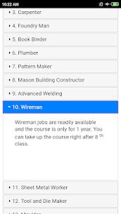 ITI Courses List 4
