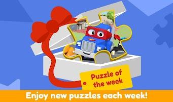 Car City Puzzle Games - Brain Teaser for Kids 2+