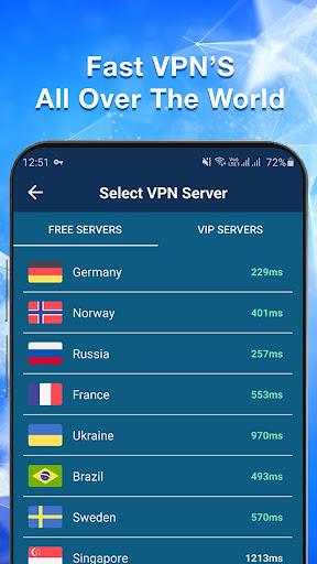 VPN Master - Free & Fast & Secure VPN Proxy apktram screenshots 3