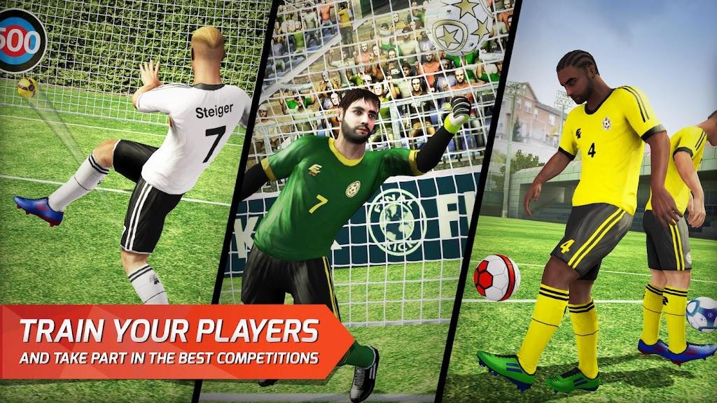 Final kick 2020 Best Online football penalty game  poster 3