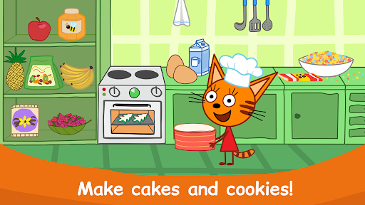Kid-E-Cats: Cooking for Kids with Three Kittens!  screenshots 3