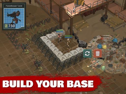 Overrun Zombie Tower Defense: Free Apocalypse Game apkdebit screenshots 9