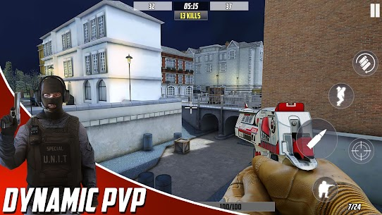 Hazmob FPS : Online Multiplayer FPS Shooting Game Mod Apk 1.1.37 (Endless Game Currency) 3