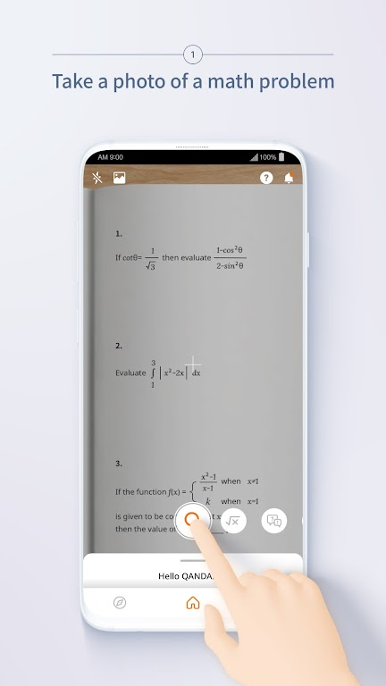 QANDA: Free Math Solutions poster 2