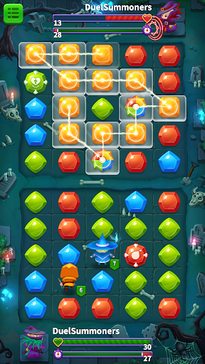 Duel Summoners - Puzzle & Tactic Varies with device updownapk 1