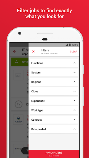 Pnet - Job Search App in South Africa modavailable screenshots 3