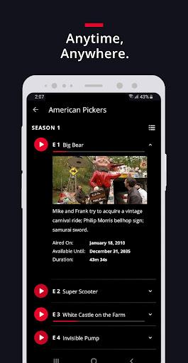 HISTORY: Watch TV Show Full Episodes & Specials 3.3.5 screenshots 4