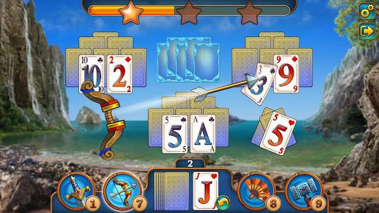 Magic Tri Peaks Offline Solitaire Game