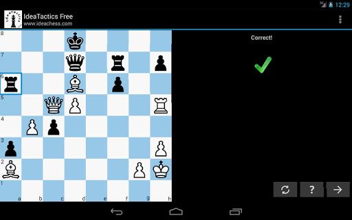Chess tactics puzzles | IdeaTactics 1.17 screenshots 12