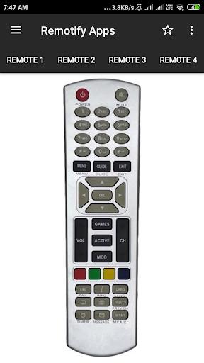 Dish TV Remote Control apktram screenshots 2