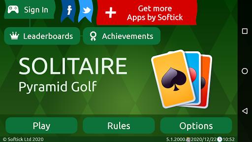 Pyramid Golf Solitaire screenshots 8