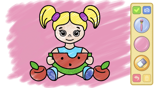 Coloring and drawing for kids  screenshots 5