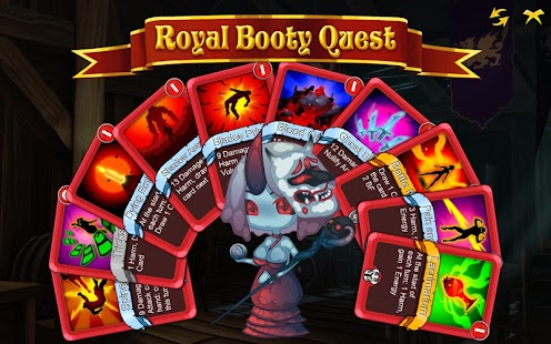 Royal Booty Quest: Card Roguelike Screenshot