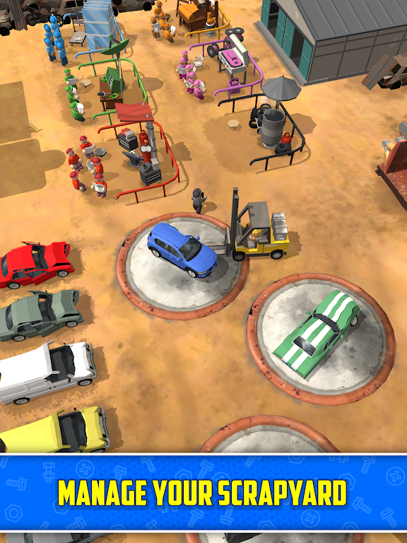 Scrapyard Tycoon Idle Game poster 8