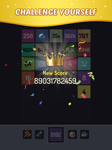 Merge Block - 2048 Puzzle  screenshots 9