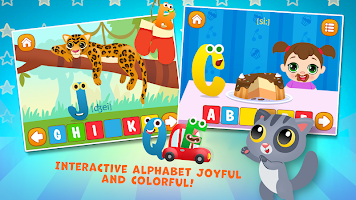 ABC kids Alphabet! Free phonics games for toddlers