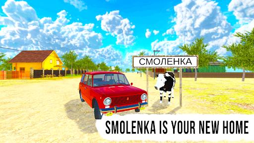 Driving Simulator: Russian Village & Online apktreat screenshots 1