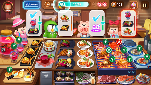 LINE CHEF Enjoy cooking with Brown! 1.11.0.16 screenshots 2