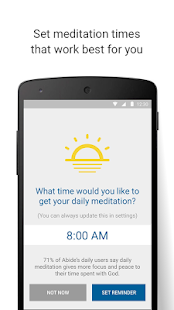 Abide Bible Meditation & Sleep Screenshot