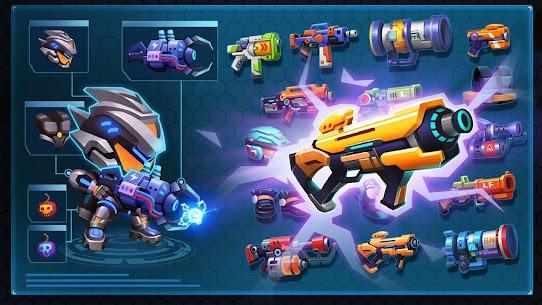 Bullet Brawl: Alien Battlelands Shootout MOD (Money/Bombs/Ammo) 5