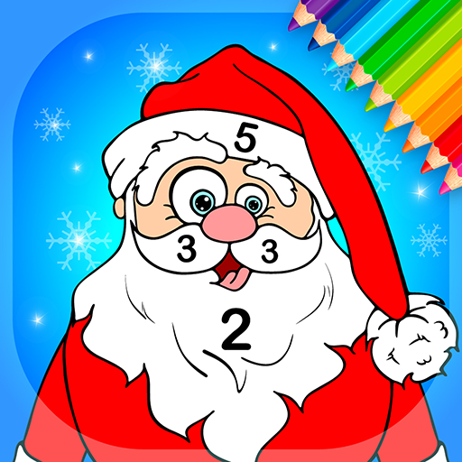 Baixar Christmas Coloring Book By Numbers para Android