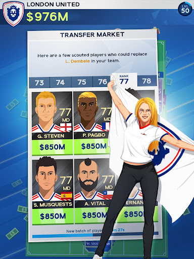 Idle Eleven - Be a millionaire soccer tycoon screenshots 10
