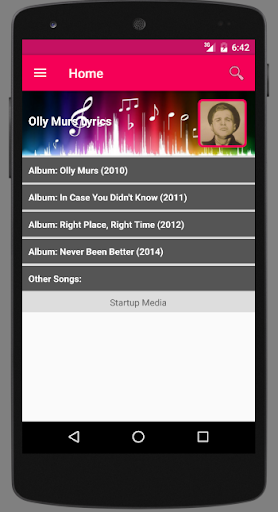 Olly Murs Lyrics screenshots 3