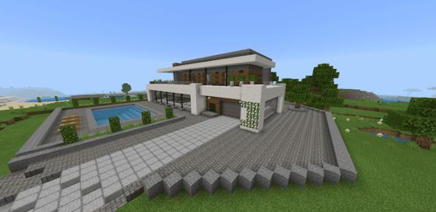 Modern Houses For Minecraft PE 2021 Apkfinish screenshots 2
