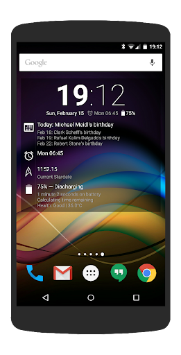 Chronus Information Widgets android2mod screenshots 4
