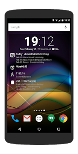 Chronus Information Widgets