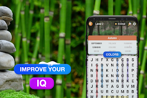 Word Search Puzzle Free - Find Hidden Word Game