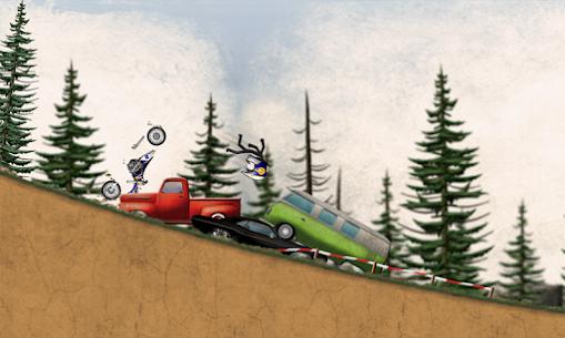 Stickman Downhill Motocross 3