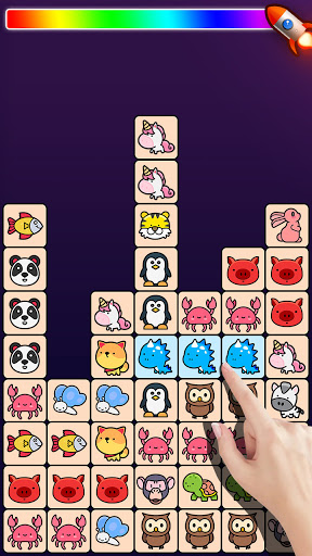 Match Animal-u00a0Free Tile master&Match Brain Game apkpoly screenshots 4