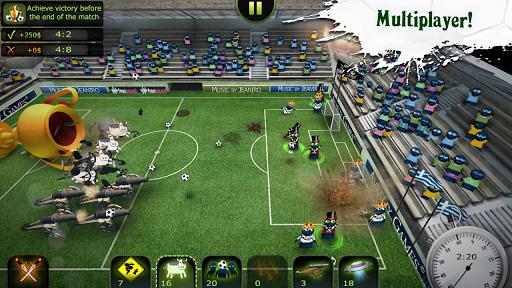 FootLOL: Crazy Soccer Free! Action Football game  screenshots 1
