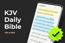 screenshot of Daily Bible: Holy Bible Verse Study King James KJV