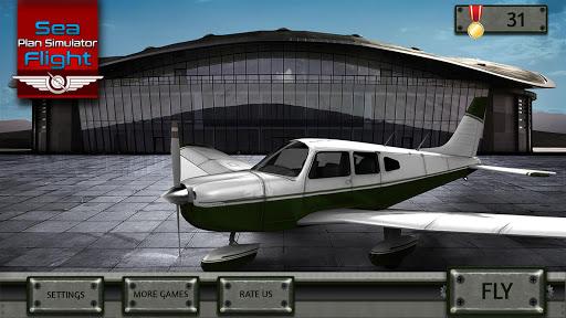 sea plane landing flight simulator screenshot 2