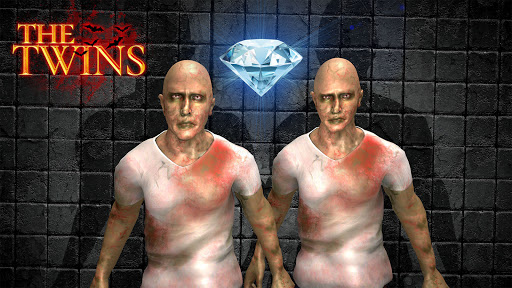 Télécharger The Scary Twins 3D - Horror Death Escape Game 2021  APK MOD (Astuce) screenshots 1