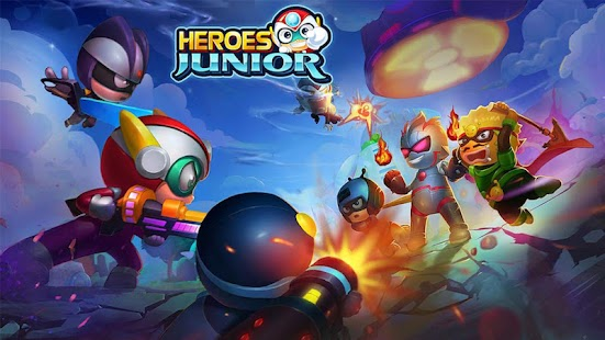 Superheroes Junior: Robo Fighting - Offline Game Screenshot