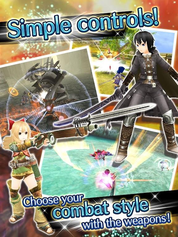 RPG Toram Online - MMORPG  poster 10