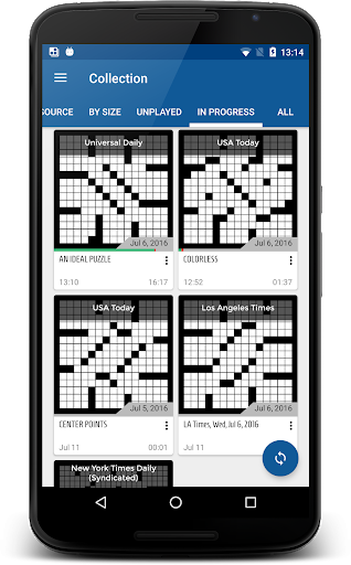 alphacross Crossword apkslow screenshots 1