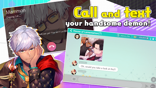 Code Triche Obey Me! - Anime Otome Dating Sim / Dating Ikemen (Astuce) APK MOD screenshots 1