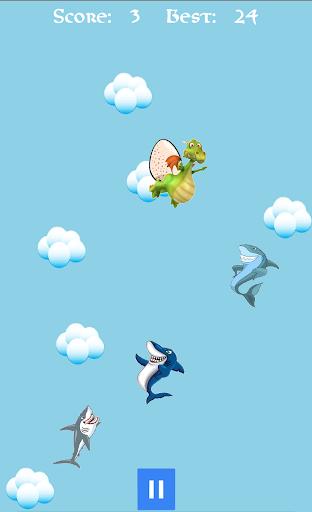 keep away, sharks! screenshot 1