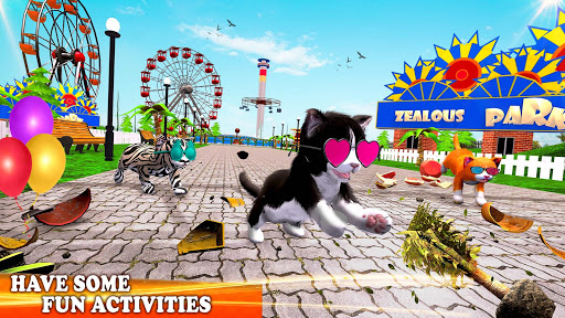 Pet Cat Simulator Family Game Home Adventure Apkfinish screenshots 13