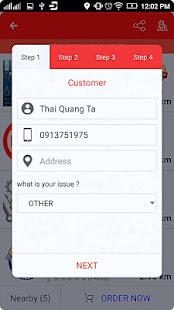 Rada - fix and repair services booking 1.8.5 Screenshots 5