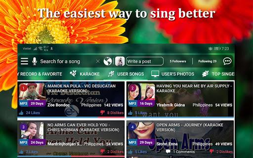 Kakoke - sing karaoke, voice recorder, singing app  Screenshots 8