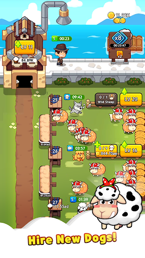 Sheep Farm : Idle Games & Tycoon screenshots 3